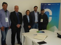 El vicepresident David Alquézar expressa l'aposta per la biomassa i el compromís amb els productors agroalimentaris del Consell Comarcal
