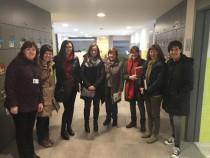 La Comissió de Vellesa de l'Anoia coneix el centre de dia Montserrat