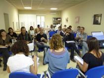Una àmplia representació dels regidors i regidores de serveis socials, immigració i igualtat dels ajuntaments anoiencs