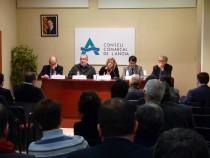 La vicepresidenta Ortega es reuneix amb els alcaldes de l'Anoia per buscar alternatives a la situació econòmica dels ajuntaments