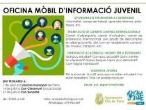 L'Oficina Jove de l'Anoia es trasllada a Piera amb l'Oficina Mòbil d'Informació Juvenil