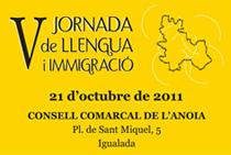 V Jornada de Llengua i Immigració de l'Anoia