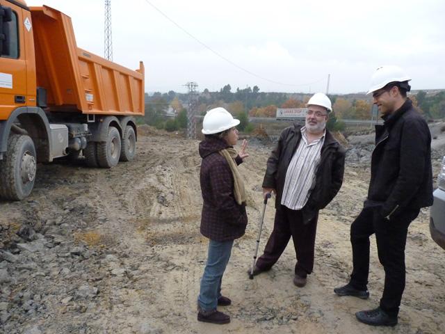 El president del Consell Comarcal de l'Anoia, Xavier Boquete, va visitar el passat dijous l'estat de les obres del Campus Motor de l'Anoia