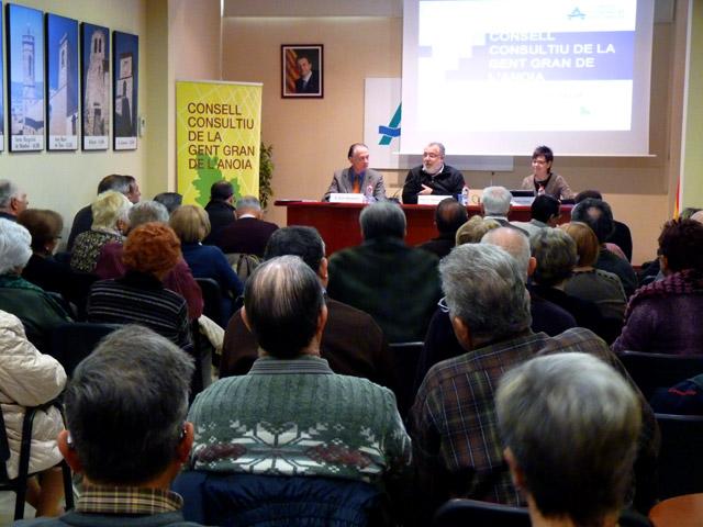 3 anys del Consell Consultiu de la Gent Gran de l'Anoia