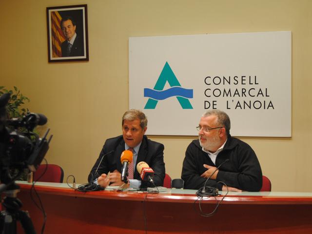 Diputació i Consell Comarcal exploren noves vies de col·laboració per enfortir el territori