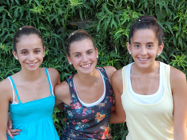 Tres alumnes de l'Escola de dansa del Consell Comarcal entren a l'Institut del Teatre