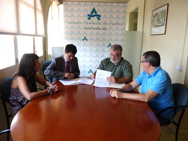 El Consell Comarcal i l'Ajuntament d'Igualada uneixen esforços per fomentar el turisme a la comarca